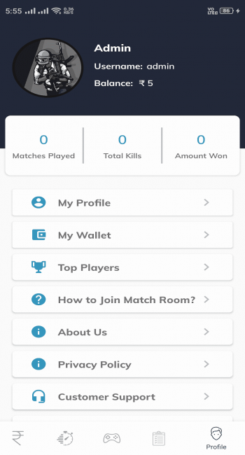 App Profile Preview